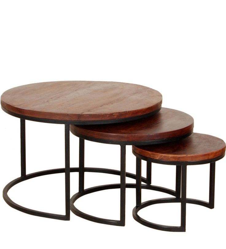 Curitiba Set Of Tables By Woodsworth Online