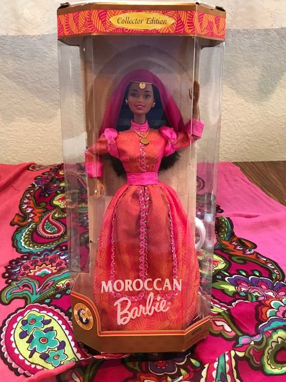 Dolls Of The World Moroccan Barbie Doll By Mattel http://etsy.me/2Fe3Wut #toys #birthday #christmas #lovelifeincolor