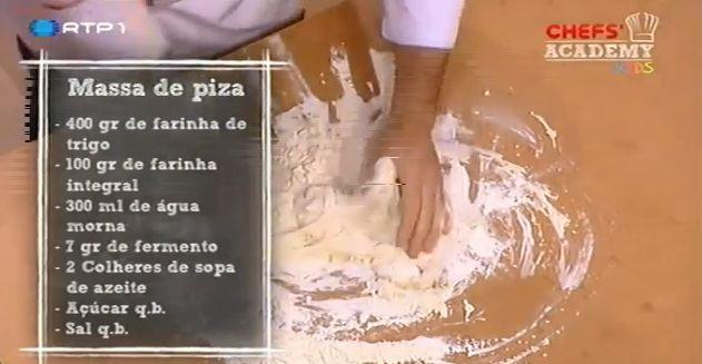 Massa para Pizza