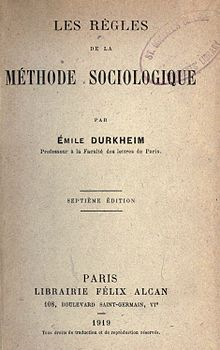 Émile Durkheim - Wikipedia, the free encyclopedia. was a French sociologist, social psychologist and philosopher. He formally established the academic discipline and—with Karl Marx and Max Weber—is commonly cited as the principal architect of modern social science and father of sociology. Emile Durkheim was born in Épinal in Lorraine, the son of Mélanie (Isidor) and Moïse Durkheim. He came from a long line of devout French Jews; his father, grandfather, and great-grandfather had been rabbis.