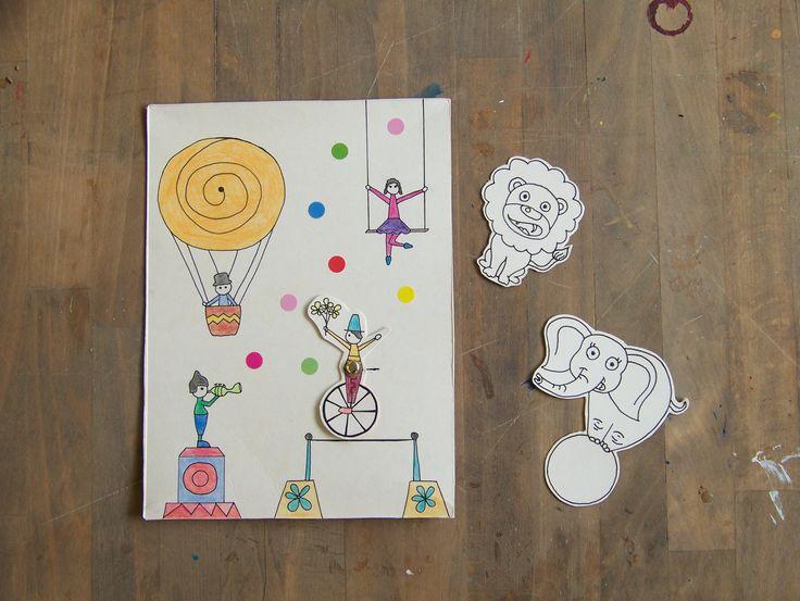 #cirkus #recyklace #story #animal #acrobat #kids #deti #ladylu #workshop #creative