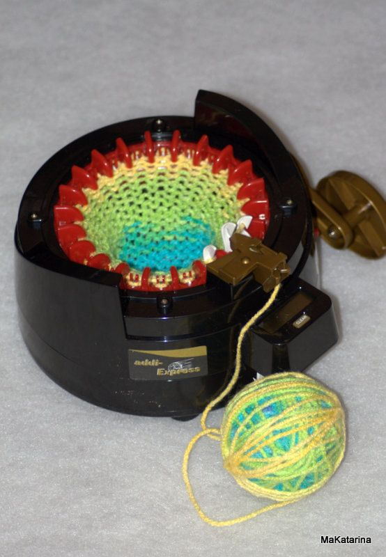Πρόσθετες Express Επαγγελματικό κιτ αρχική πλέξιμο μηχανή περιλαμβάνει 22 βελόνες, δωρεάν 1 σφαίρα του νήματος