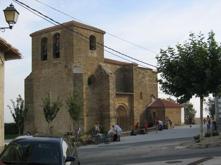 Iglesia de San Andrés, Zariquiegui, Navarra, Camino de Santiago