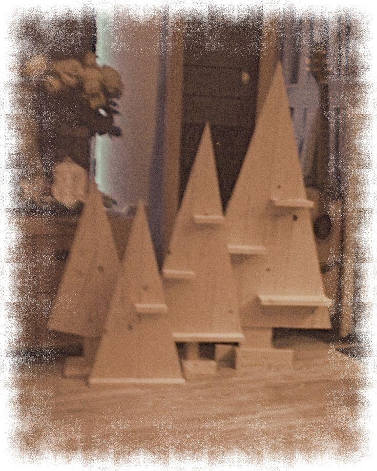 Kerstboompjes voor familie en vrienden.