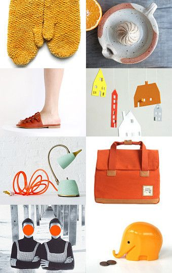 Citrus Burst by Mariamélia on Etsy--Pinned with TreasuryPin.com