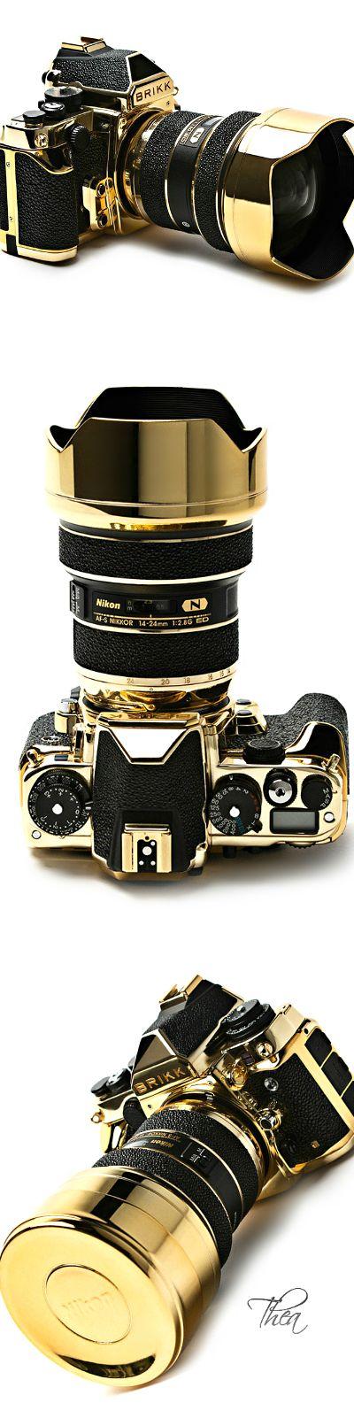 Brikk ● 24K Gold Stingray Lux Nikon DF Camera $58,000