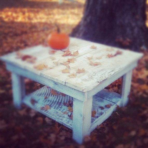 Barnwood coffee table Neufield Collection by ReBarnCHF on Etsy, $225.00