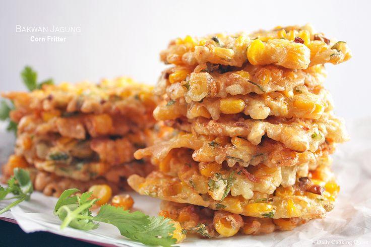 Bakwan Jagung - Corn Fritter