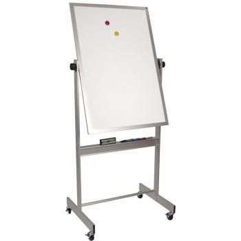 Magnetic Rolling Whiteboard Portable - Choose Size - Aluminum or Wood Frame