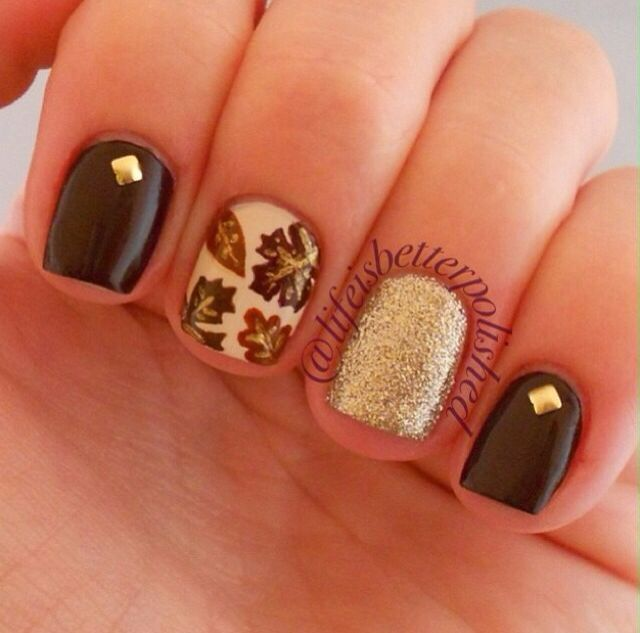 1109 best Autumn Nail Design images on Pinterest   Cute nails, Nail ...