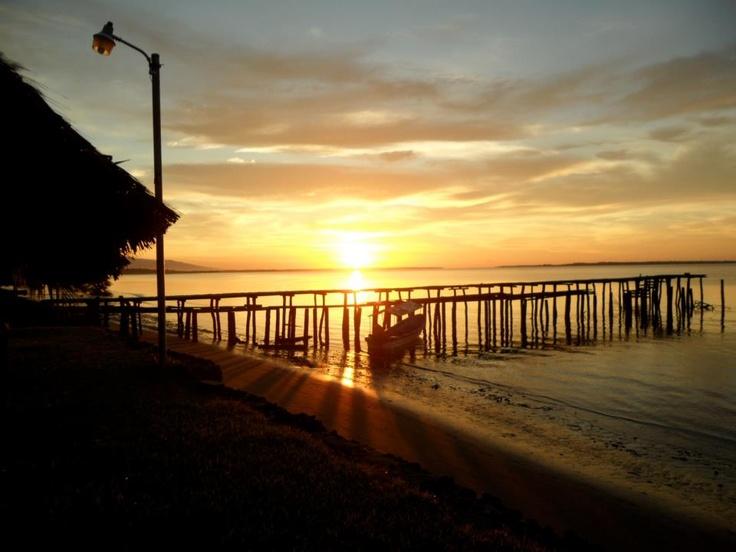 Jiquilisco Bay. El Salvador