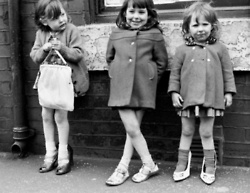 Three Together  Salford Manchester  by Shirley Baker  1965