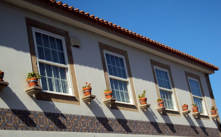 Viseu Portugal . janela de guilhotina
