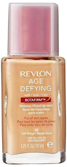 Revlon Age Defying Liquid Makeup / Foundation - Soft Beige #05