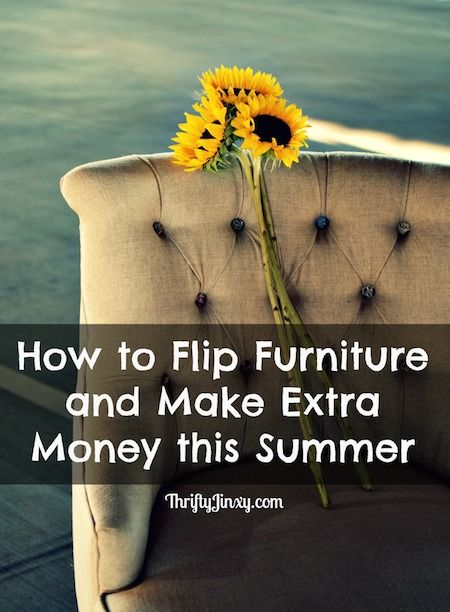 How to Flip Furniture and Make Extra Money - Combine some bargain hunting  with a little