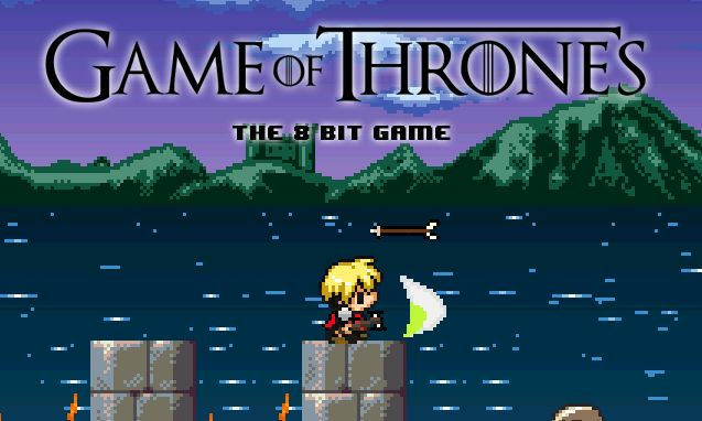 Game of Thrones 8bit game!!