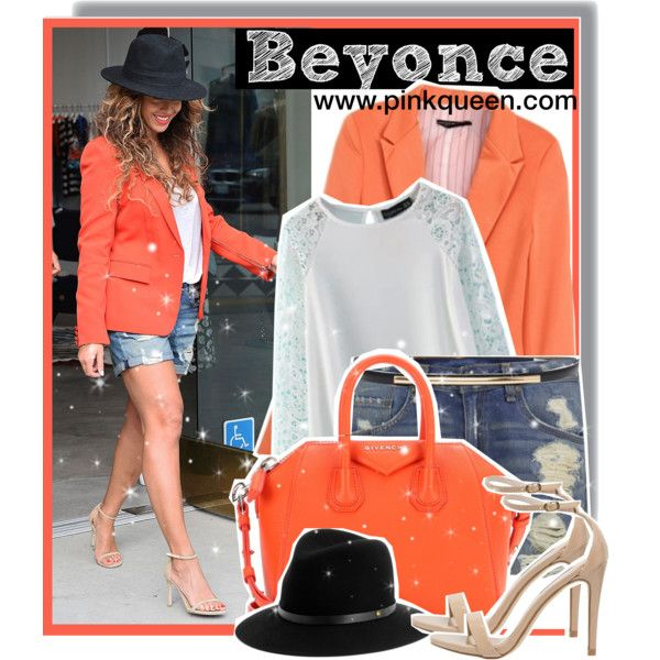 Beyoncé shopping in LA by anne-mclayne on Polyvore featuring rag & bone, Steve Madden, Givenchy and Alice + Olivia