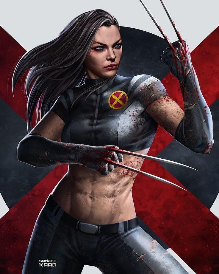 X23!! Art by Sadece Kaan  #X23 #Logan #XMen #Marvel #MarvelComics #Comics #ConceptArt #Art #Artist #Superhero