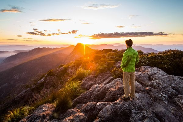 Mt Barney Sunset by Lachlan Gardiner. Winner 2016 Visioning the Outdoors Film & Photo