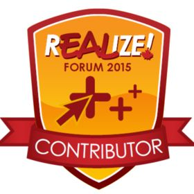 REALIZE! Online Forum 2015 Contributor Badge