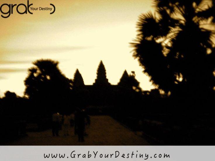 Exploring Beautiful Angkor Wat in Cambodia #AngkorWat #GrabYourDestiny #Travel #SiemReap #JasonAndMichelleRanaldi www.GrabYourDestiny.com