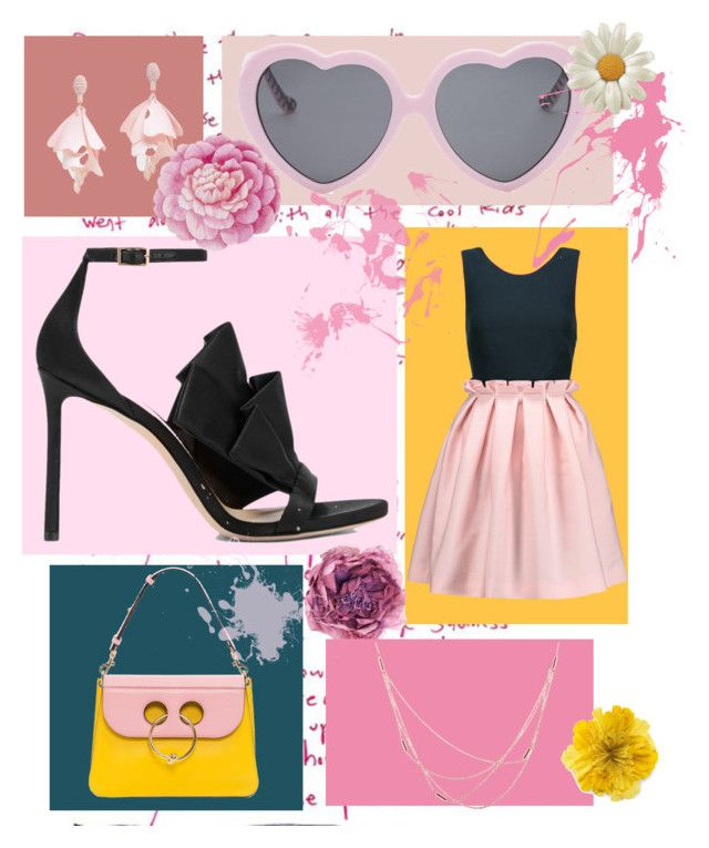 """""""Date me mr.perfect💄💋"""" by imcute1550 on Polyvore featuring Jimmy Choo, Mother of Pearl, Vans, Oscar de la Renta Pink Label, Gucci, Ballard Designs and Willow & Clo"""