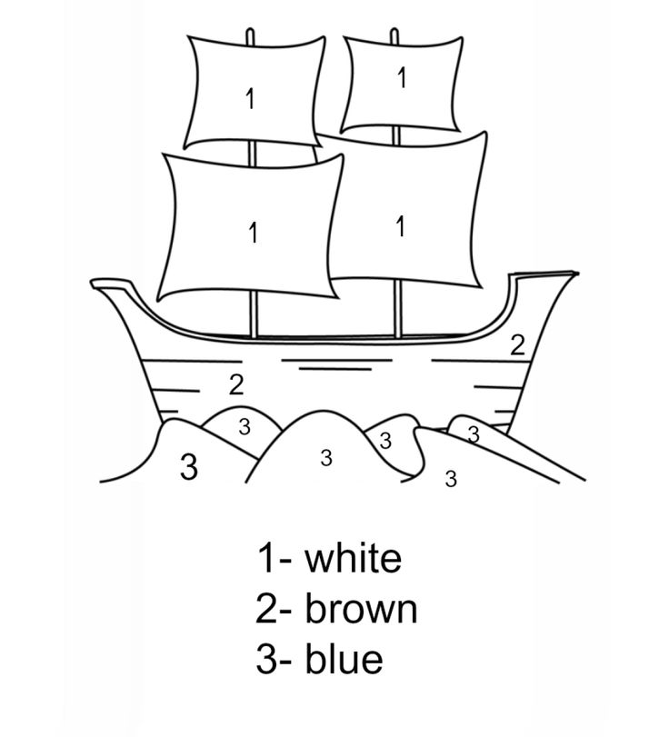 mayflower coloring pages for preschool - photo#19