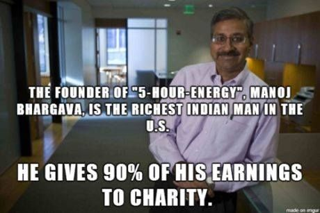 #Charity Let's see how many people we can come up with who we think can learn a great deal from this man. I'm going to start you off with Gina Rinehart, Rupert Murdoch, Tony Abbott and Joe Hockey http://ozhealthreviews.com/health/wealth-inequality/