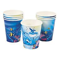 Dolphin Party Cups