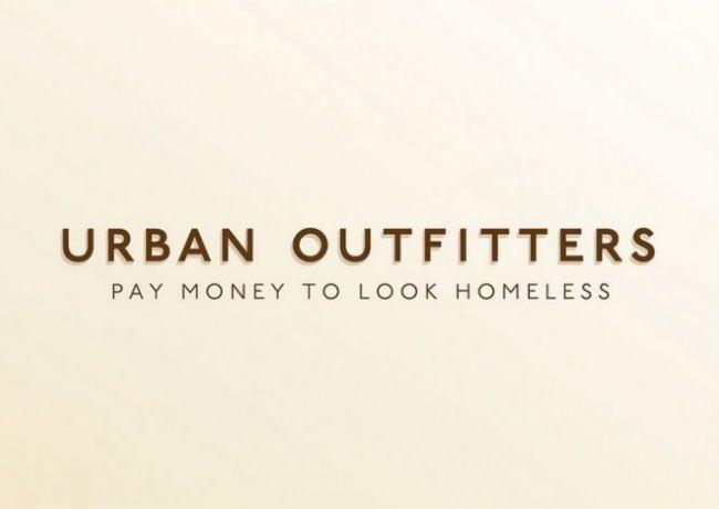 Urban Outfitters. Brutally Honest Brand Name Slogans – BoredBug