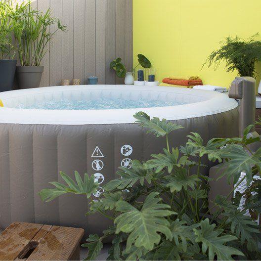 17 meilleures id es propos de spa gonflable sur pinterest jacuzzi gonflable 2 places spa. Black Bedroom Furniture Sets. Home Design Ideas