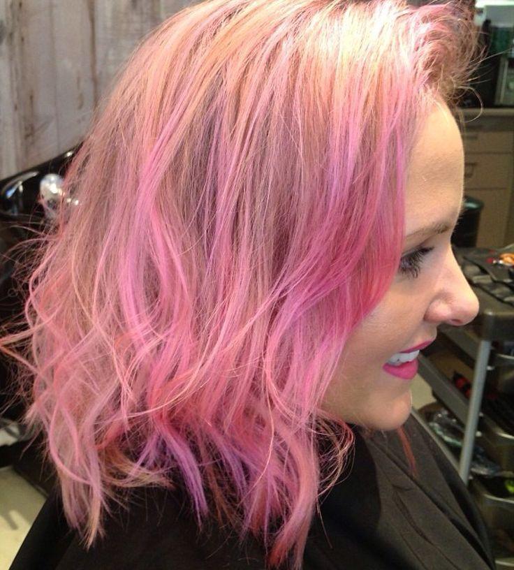 Barbie Pink Hair @ Smyths Inc. #hair #haircolour #pink #pinkhair #pastelhair #pastel #fairyfloss #barbie