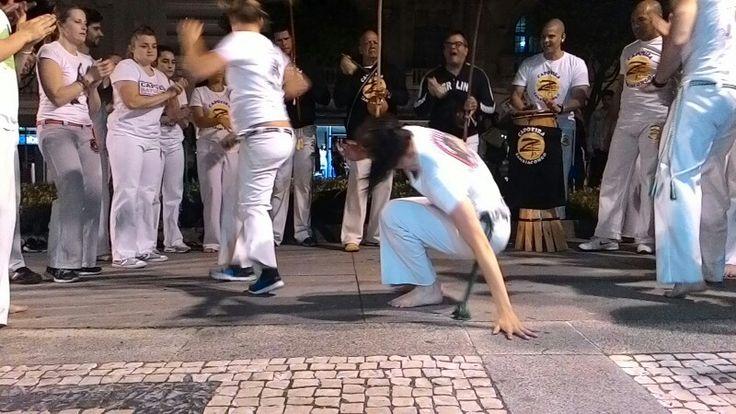 Zambiancongo Braga PT com Mestre Geni #capoeira