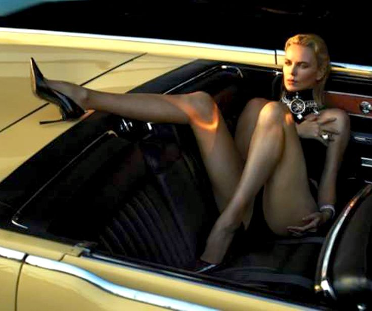 Charlize Theron - leggy shoot Goddess Tasha Only High ...