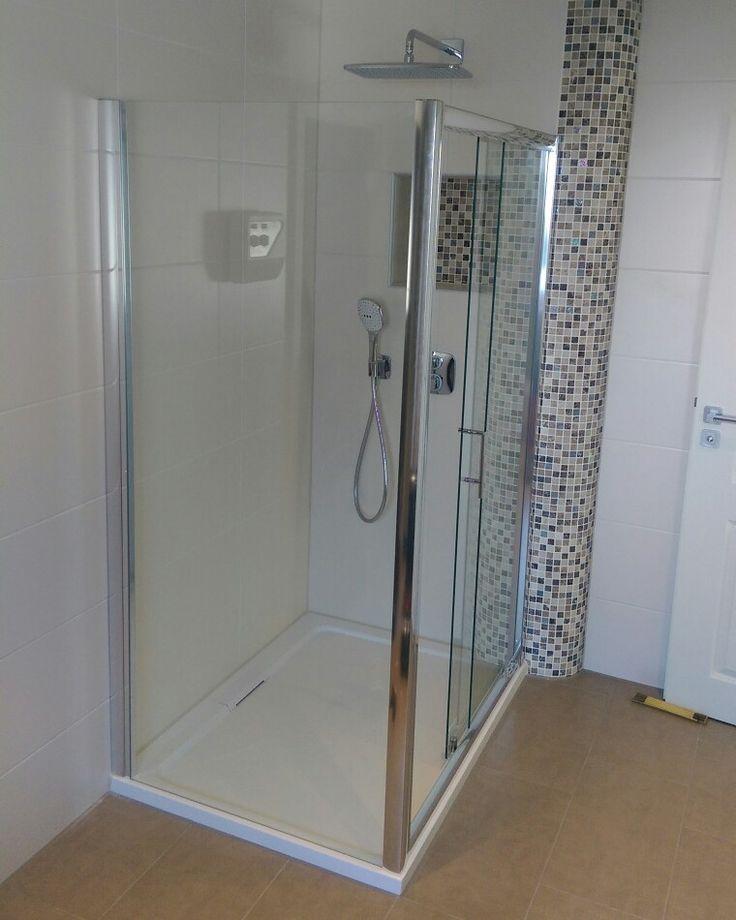 die besten 25+ dusche schiebetür ideen auf pinterest ... - Schiebetür Für Badezimmer