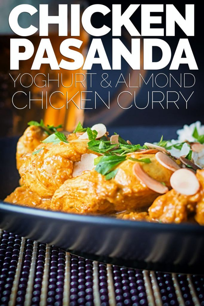Mild Indian Chicken Pasanda Curry Recipe Curry Recipes Curry Chicken Recipes Chicken Salad Recipes