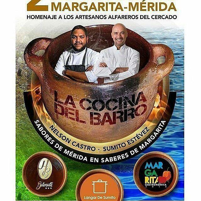 """@Regrann from @sumitoestevez - EL CHEF NELSON CASTRO EN MI RESTAURANTE """"LANGAR DE SUMITO"""" EL DÍA MARTES DE 4 DE OCTUBRE.  INFORMACIÓN PARA RESERVACIÓN: ictcmargarita@gmail.com TEL. 0414-0576299  LUGAR: Restaurante El Langar de Sumito La Asunción  MENÚ  Bs. 15.000 por persona (Incluye vino cerveza artesanal y ron) ABREBOCA Carabinas de sofrito criollo con chorizo ahumado y salsa de suero(Nelson Castro)  ENTRADA Coca de Catalana marinada y ajoarriero de ají dulce margariteño (Nelson Castro)…"""