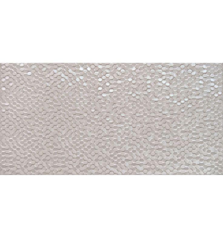 Dekoration klinker online för badrum och kök på Kakelmonster | Hexagon Vit 30x60