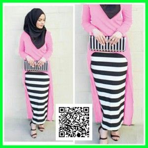 baju-maxi-gita-dress-modis-mgs31-pink