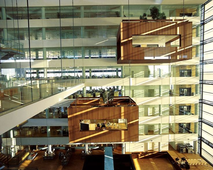 Nykredit's Headquarters - Picture gallery #architecture #interiordesign #glass #HQ
