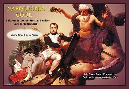 Napoleonic Code: Software & Internet Hosting Services