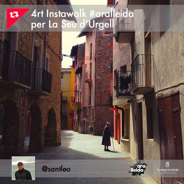 InstaWalk Seu Urgell - Lleida