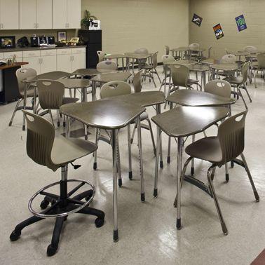 Virco Equipped Yukon High School In Yukon Oklahoma