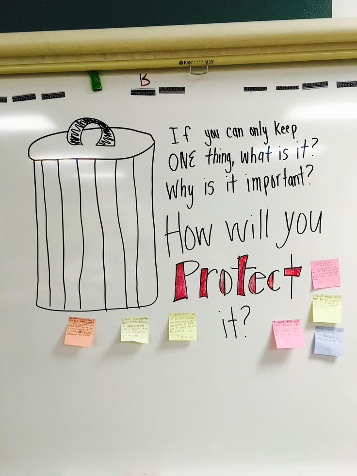 Morning message, used with our National Parks unit.