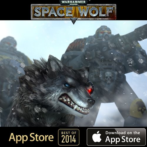 Warhammer 40,000: Space Wolf Best of 2014 on App Store! http://on.fb.me/1KI6rMK #Warhammer #SpaceWolf #HeroCraft #Game #AppStore