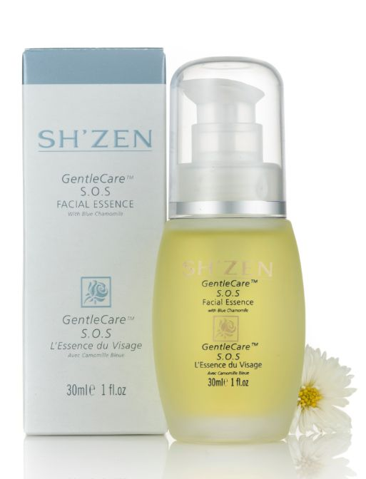 The S.O.S Facial Essence calms, heals, protects and restores radiance to stressed, fragile skin.