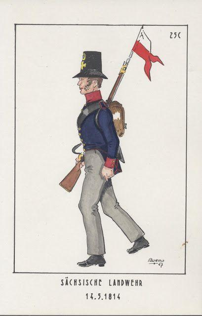 Sachsiche Landwehr 1814