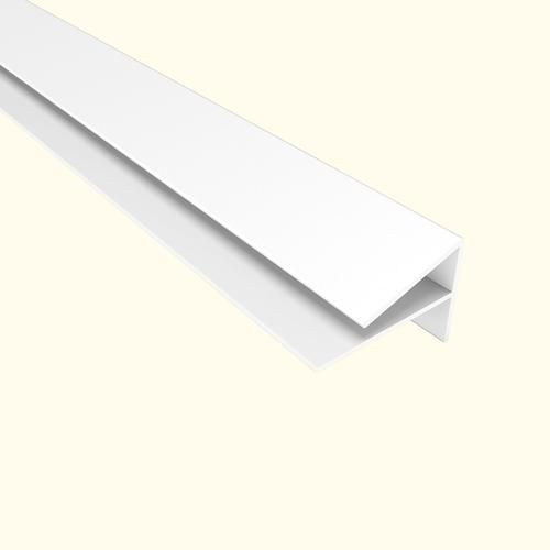 Fasade® 4' PVC Outside Corner Trim