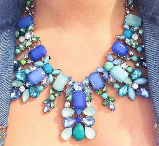 Designer necklaces, Stylish eye catching statement necklaces http://www.justtrendygirls.com/stylish-eye-catching-statement-necklaces/
