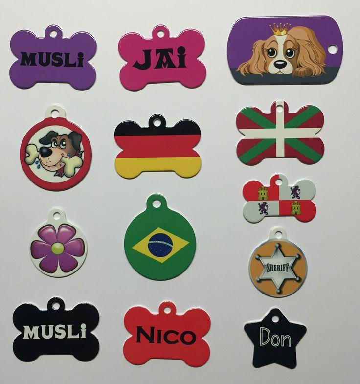 Placas diseño, bandera y unicolor; personalizadas.